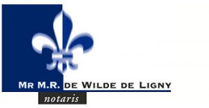 Notaris Mr M.R. de Wilde de Ligny