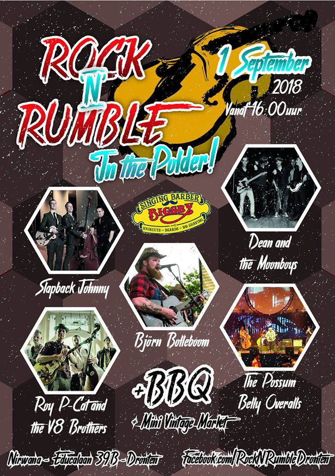 Rock N Rumble in the Polder doet jaren 50 herleven in Dronten