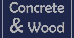Concrete & Wood - Creatief met hout en beton